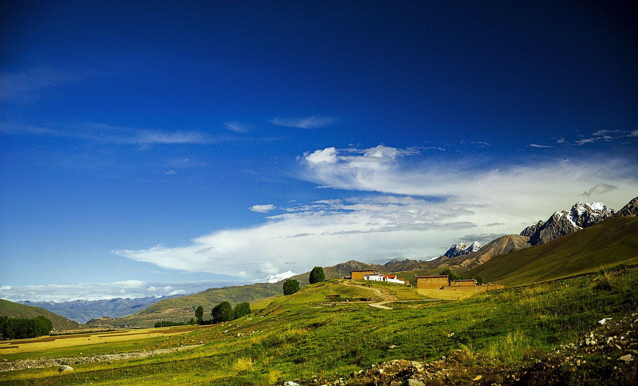 チベット農村