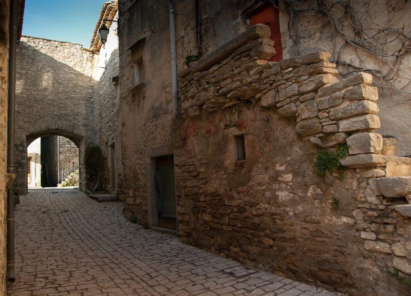 石造りの街